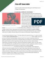 Contesto storico di Isocrate | Studenti.it