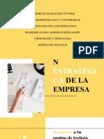 Planificacion estrategica empresas