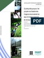 Guide pratique projets multisectoriels AEPA World Bank
