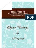 Wedding Menus 2010 - Hotel at Auburn, Auburn, Alabama, United States