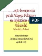 comptencia - pedagogia dialogante.pdf