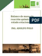 BALANCE DE MASA EN PROCESOS DE HIDROCARBUROS