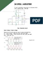Audio Push Pull Amplifier - Lavery