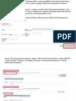 3 - Cadastro NFe no SiGPC Contas Online Teresina-PI