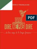 Dire, ne pas dire by Française Académie (z-lib.org)