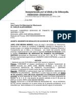modelo DESACATO SERTRAVI