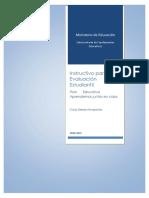 Instructivo para la evaluación de los aprendizajes Sierra y Amazonía 2020-2021_vf
