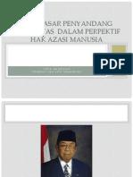 Hak Dasar Penyandang Disabilitas  dalam Perpektif Hak Azasi Manusia (Materi Soka Handinah LBH APIK)