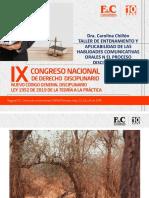 SEMINARIO TALLER ORALIDAD EN DISCIPLINARIO FYC CONSULTORES-ENTREGABLE