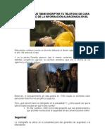 IMPORTANCIA QUE TIENE ENCRIPTAR TU TELEFONO DE CARA A LA SEGURIDAD DE LA INFORMACIÓN ALMACENADA EN EL