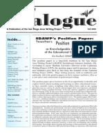 Dialogue Fall 2008