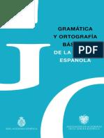 3. Gramática y Ortografía básicas de la lengua española RAE 2 juegos (ARREGLADO)