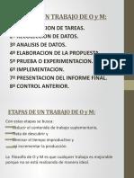 Material para los alumnos -  Clase 3 - O y M I Unidad II
