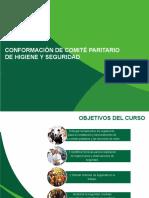 CURSO CONFORMACIÓN DE COMITÉ PARITARIO DE HIGIENE Y
