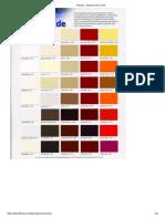 Fiberlay __ Gelcoat Color Chart