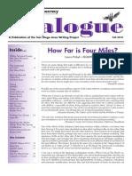 Dialogue Fall 2010