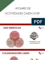 Informe Final de Actividades 2019