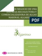 Plan de negocio de una empresa recolectora y comercializadora de algas marinas
