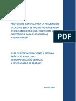 Protocolo General COVID19
