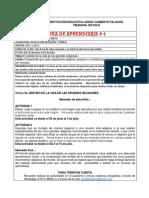 FORMATO CLASE - GRADO DÉCIMO - ACT 1 Y 2 JULIO