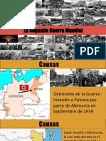Presentación de la Segunda Guerra Mundial