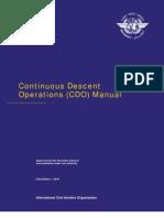 Doc 9931 Continuous Descent Operations (CDO) Manual English