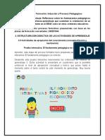 Prueba interactiva El fundamento pedagógico es correcto