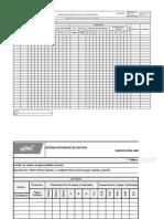 Verificación Limpieza y desinfección Envases