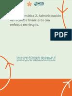 Guia del metodologica unidad tematica 2 Curso Herramientas administrativas para la gestion gerencial