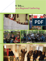How To Run a Regional Transition Gathering