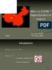 CHINE - conférence CADENAC - 2010