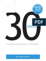 30 Ideas. The Ideas of Successful Job Search.