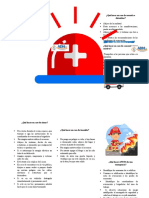 FOLLETO EMERGENCIAS