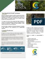 Boletín Ambiental Junio 2020