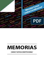 MEMORIAS JUSTICIA CONSTITUCIONAL