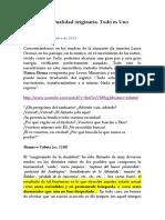[2011][10][30] La No-Dualidad originaria. Todo es Uno (lcsu).docx