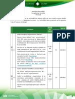 Agenda de Aprendizaje M4