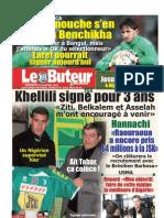 LE BUTEUR PDF du 23/01/2011