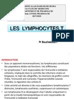 5-les Lymphocytes T 2017 2018