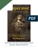 """""""Imperator""""  Excerpt """"Enfranchisement"""""""