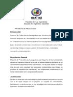 Programa  Proyecto de Producción R2-2020