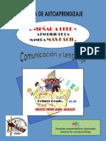 1 STEG GUÍA DE AUTOAPRENDIZAJE PRIMERO COMUNICACIÓN 2020