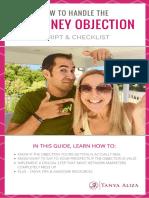 No+Money+Objection+Script+&+Checklist