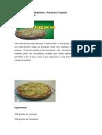 Pizza portuguesa (Recheio) - Adnilson Pizzaiolo