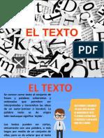EL TEXTO CLASE  V.pptx