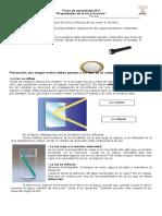 Ficha de aprendizaje N°2 propiedaeds de la luz y arcoiris