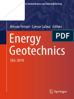 (Springer Series in Geomechanics and Geoengineering) Alessio Ferrari, Lyesse Laloui - Energy Geotechnics_ SEG-2018-Springer International Publishing (2019)