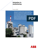 Energy optimization in cement manufacturing