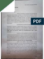 Acusación dirigenta social de Caleta Tortel a Ministro de Bienes Nacionales (1)