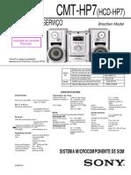 Sony - Micro System CMT-HP7, HCD-HP7 - Service Manua2l